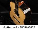 acoustic guitar  tuning machine ... | Shutterstock . vector #1083461489