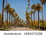 street in beverly hills   Shutterstock . vector #1083472208