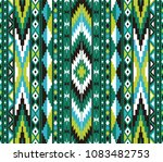 tribal seamless colorful... | Shutterstock .eps vector #1083482753