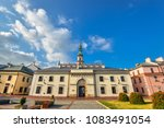 zamosc  poland   august 23 ... | Shutterstock . vector #1083491054