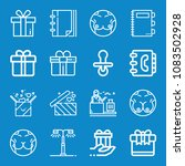 set of 16 other outline icons... | Shutterstock .eps vector #1083502928