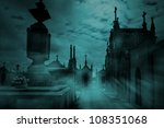 old european cemetery in a... | Shutterstock . vector #108351068