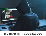 cybercrime  hacking and... | Shutterstock . vector #1083511010