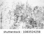 old wall grey grunge background ... | Shutterstock . vector #1083524258