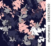 vector seamless pattern with... | Shutterstock .eps vector #1083525650