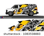car livery graphic vector.... | Shutterstock .eps vector #1083538883