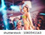 blurred for background night... | Shutterstock . vector #1083541163