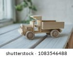 wooden toys  wooden plane and... | Shutterstock . vector #1083546488