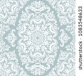 classic seamless white pattern. ... | Shutterstock . vector #1083548633