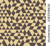 geometric pattern with brown... | Shutterstock . vector #1083548636