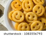 homemade smiley face french...   Shutterstock . vector #1083556793