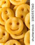 homemade smiley face french... | Shutterstock . vector #1083557060