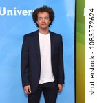 Small photo of LOS ANGELES - MAY 02: Damon J. Gillespie arrives for the NBCUniversal Summer Press Day 2018 on May 2, 2018 in Universal City, CA