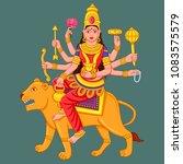 vector design of statue of... | Shutterstock .eps vector #1083575579