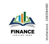 diagram book logo | Shutterstock .eps vector #1083584480