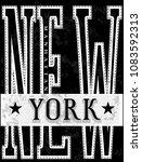 nyc  new york  stock vector... | Shutterstock .eps vector #1083592313