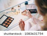 a beautiful and gentle morning...   Shutterstock . vector #1083631754