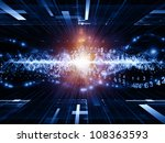 backdrop composed of abstract... | Shutterstock . vector #108363593