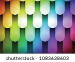 iridescent glowing background ... | Shutterstock .eps vector #1083638603
