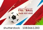 football abstract design... | Shutterstock .eps vector #1083661283