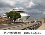 palma de mallorca  spain. july... | Shutterstock . vector #1083662180