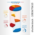 infographic template for... | Shutterstock .eps vector #1083670610