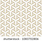 abstract geometric pattern with ... | Shutterstock .eps vector #1083702806