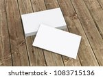 business card template for... | Shutterstock . vector #1083715136