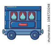 retro wagon icon. cartoon of... | Shutterstock .eps vector #1083723248