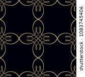 retro ornamental seamless... | Shutterstock .eps vector #1083745406