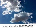 sunny blue sky   Shutterstock . vector #1083756353