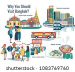 why should visit bangkok ... | Shutterstock .eps vector #1083769760