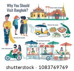 why should visit bangkok ... | Shutterstock .eps vector #1083769769