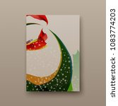 poster brochure flyer design... | Shutterstock .eps vector #1083774203