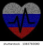 halftone cardiology pictogram... | Shutterstock .eps vector #1083783080