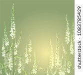 flower veronica. garden or... | Shutterstock .eps vector #1083785429