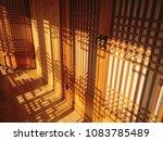 korean traditional house... | Shutterstock . vector #1083785489