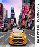 new york city  usa   april 2018 ... | Shutterstock . vector #1083809798