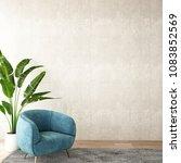 interior design for living area ... | Shutterstock . vector #1083852569