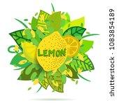 creative vector banner with... | Shutterstock .eps vector #1083854189