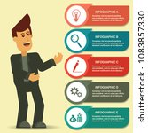 infographic creative business... | Shutterstock .eps vector #1083857330