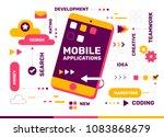 vector creative color... | Shutterstock .eps vector #1083868679