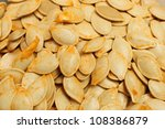 pumpkin seeds | Shutterstock . vector #108386879