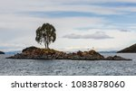 small island mid of titcaca... | Shutterstock . vector #1083878060