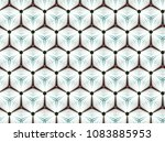 abstract fractal background... | Shutterstock . vector #1083885953