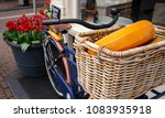 Dutch Cheese Wheels In Bicycle...