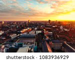 Leicester and its majestic sunrise