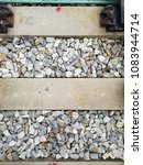 railroad tracks  closed up for... | Shutterstock . vector #1083944714
