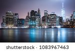 new york skyline brooklyn... | Shutterstock . vector #1083967463
