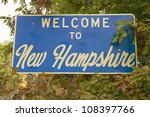 Welcome To New Hampshire State...